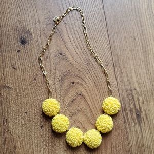 Talbots yellow necklace